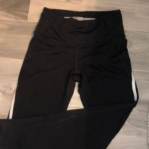 Victoria sport knockout tight - blk, side stripe